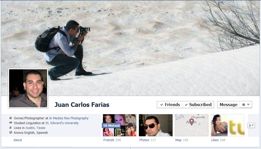 jc facebook 50 Facebook timeline covers   examples and best practices
