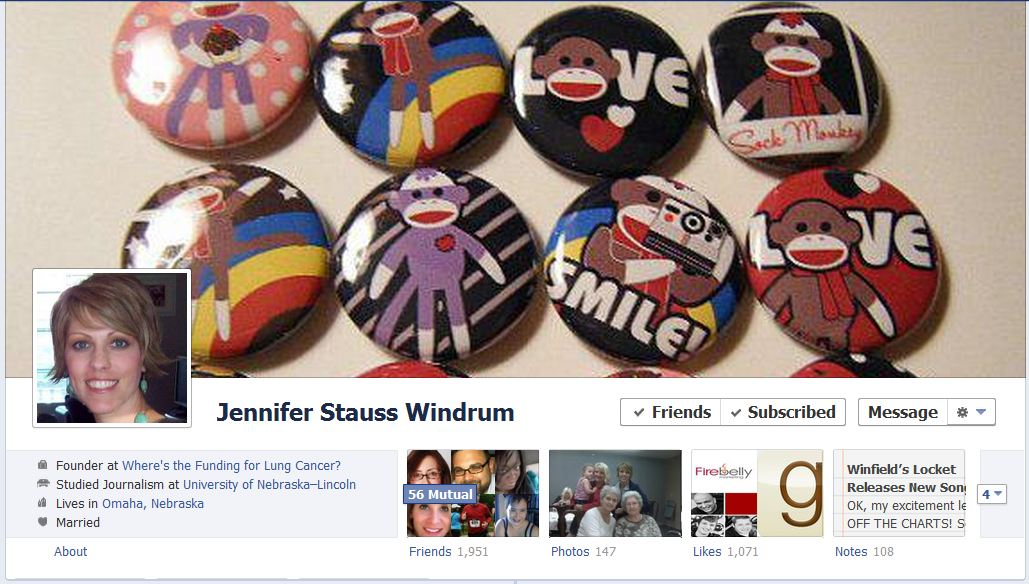 jennifer facebook 50 Facebook timeline covers   examples and best practices