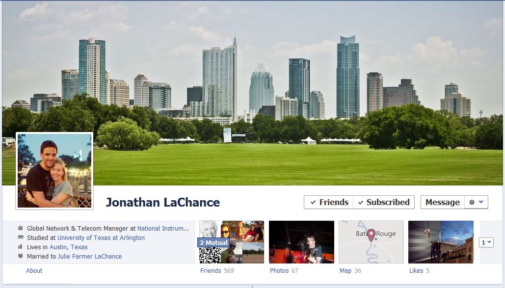 jonathan facebook 50 Facebook timeline covers   examples and best practices