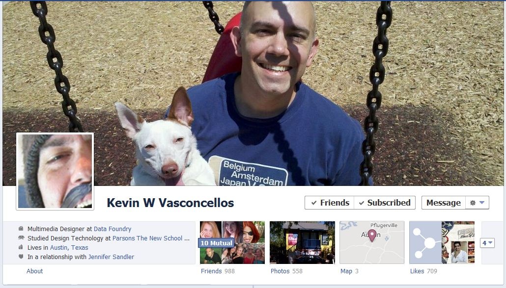 kevin facebook 50 Facebook timeline covers   examples and best practices