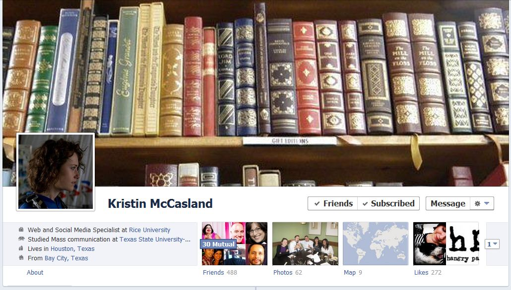 kristin facebook 50 Facebook timeline covers   examples and best practices