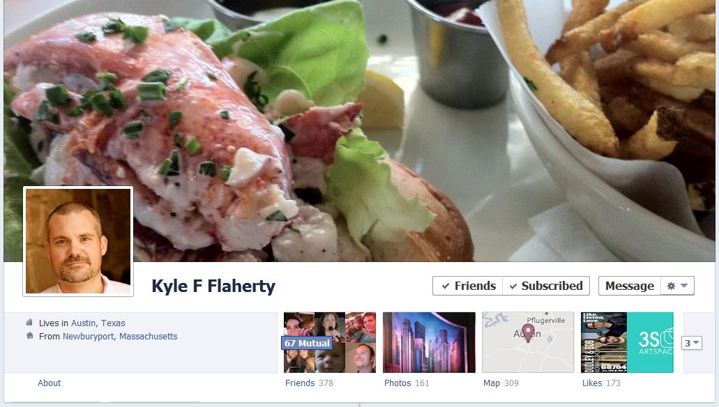 kyle facebook 50 Facebook timeline covers   examples and best practices