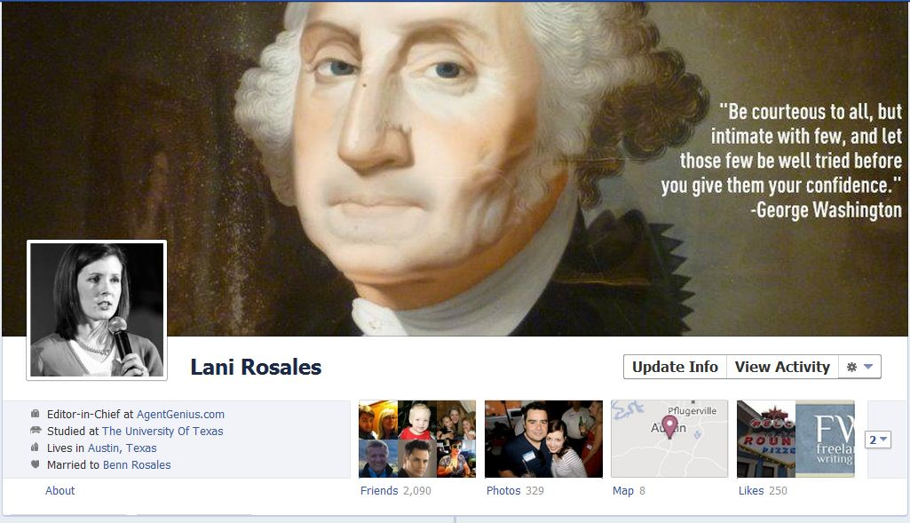 lani facebook 50 Facebook timeline covers   examples and best practices