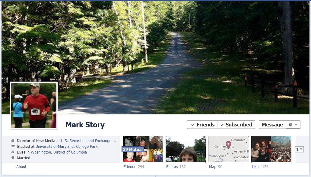 mark facebook 50 Facebook timeline covers   examples and best practices