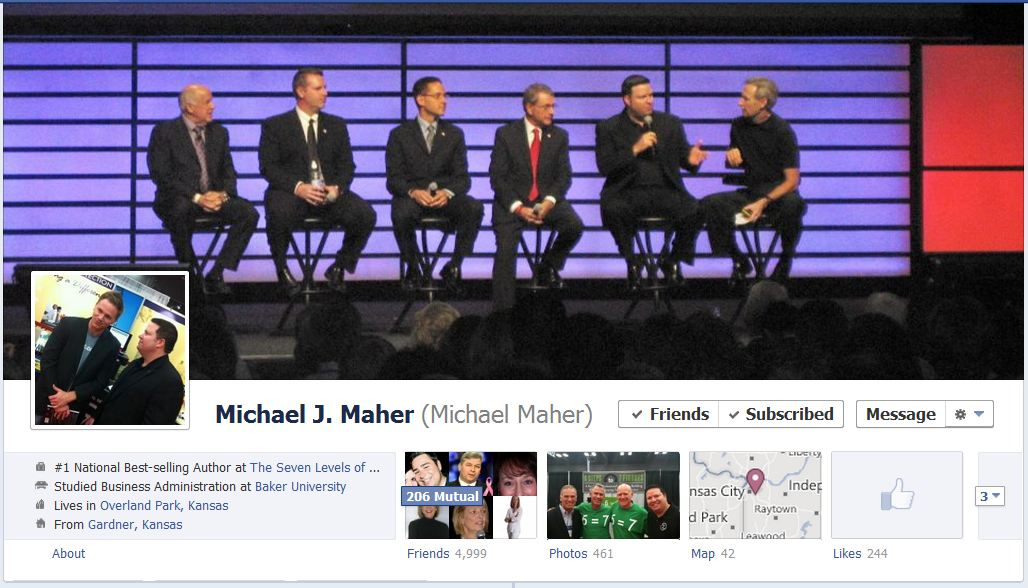 michael facebook 50 Facebook timeline covers   examples and best practices