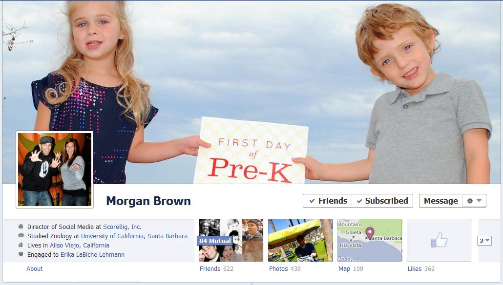 morgan facebook 50 Facebook timeline covers   examples and best practices