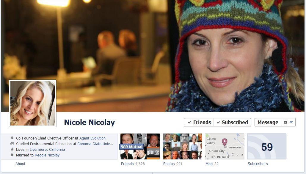 nik nik facebook 50 Facebook timeline covers   examples and best practices