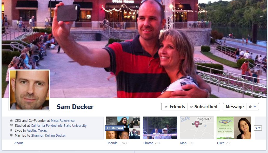 sam facebook 50 Facebook timeline covers   examples and best practices