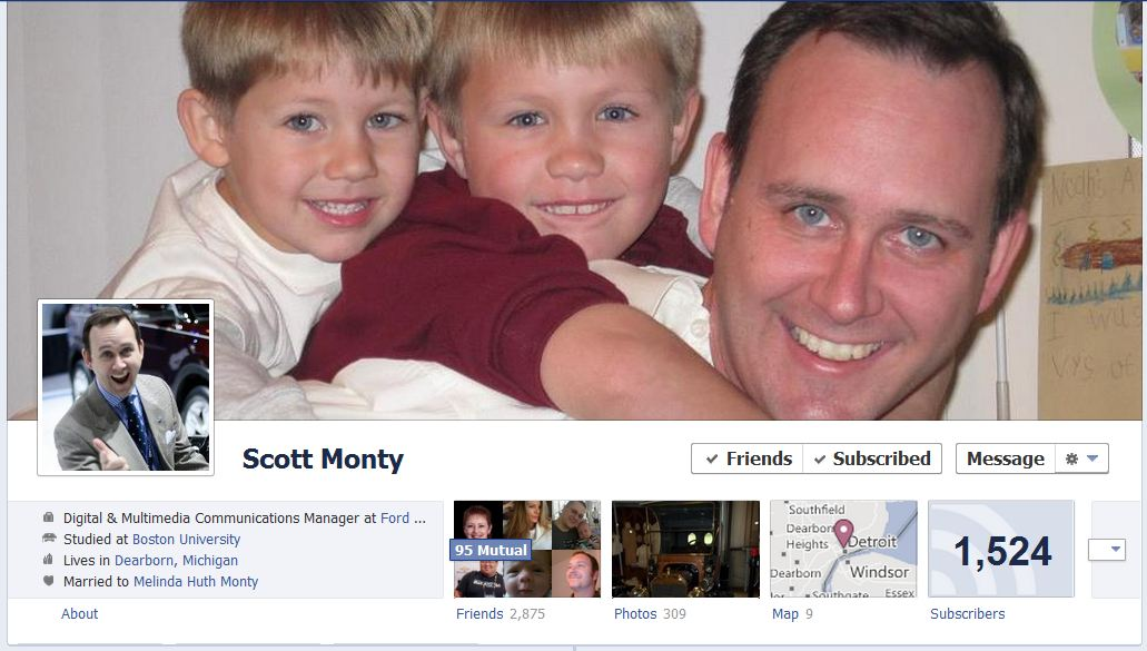 scott facebook 50 Facebook timeline covers   examples and best practices