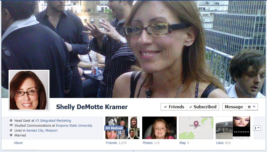 shelly facebook 50 Facebook timeline covers   examples and best practices
