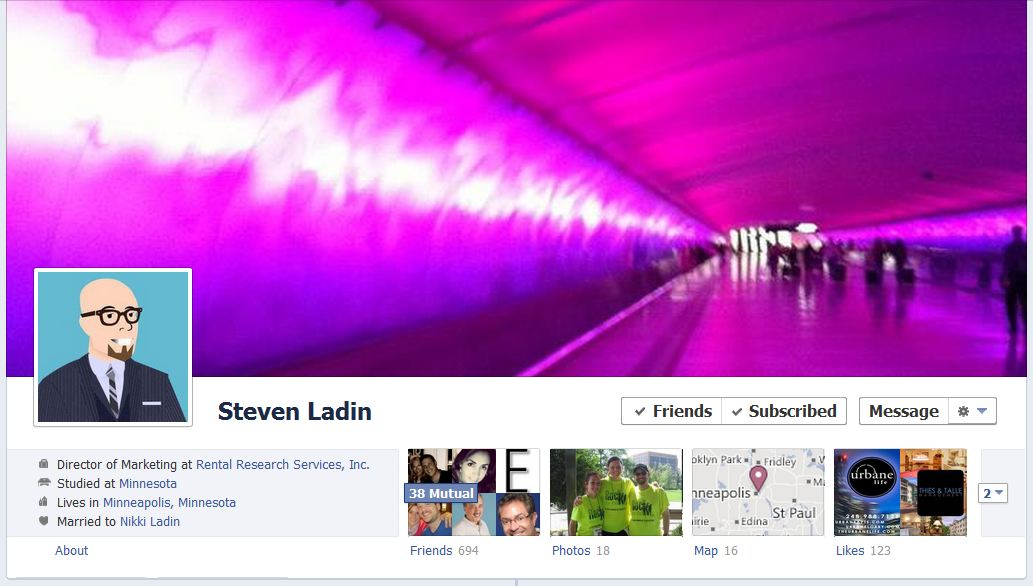 steve facebook 50 Facebook timeline covers   examples and best practices