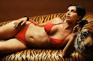 tigerlady 300x199 Rumor report involving nudity and exotic animals