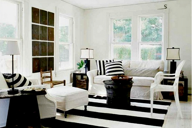Interior Decorating With Black And White Image 04 Black And White ...
