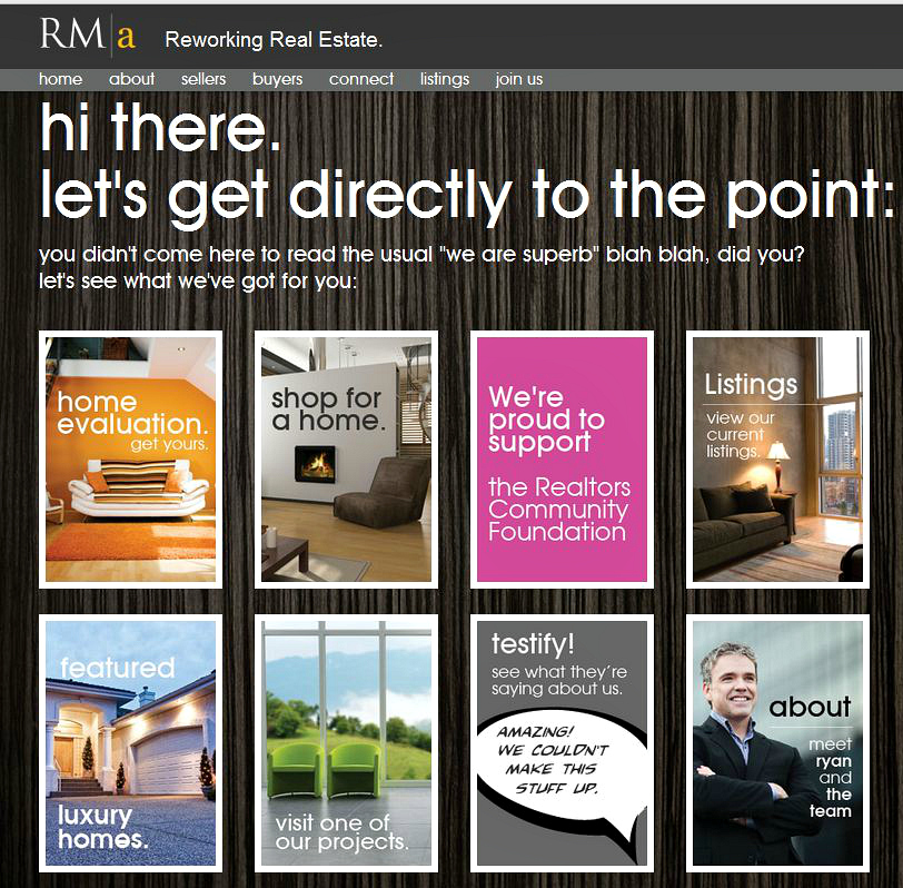 Stunning Canadian real estate website and marketing campaigns ...