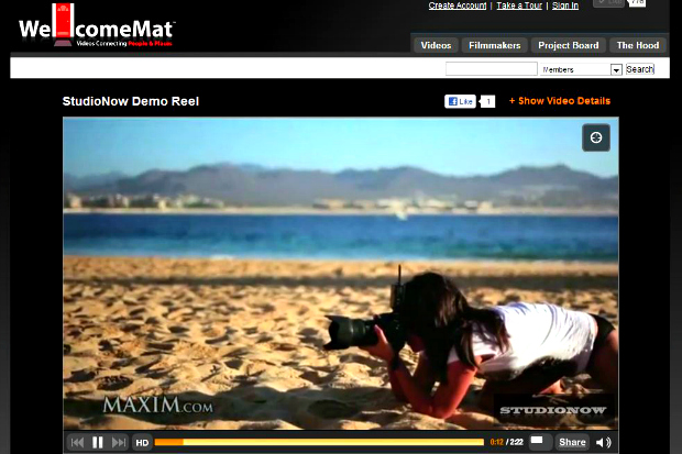 wellcome WellcomeMat partners with StudioNow, doubles size of video talent pool