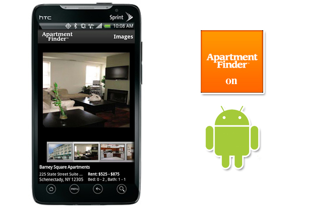 Great Apartment Finder Launches Android App