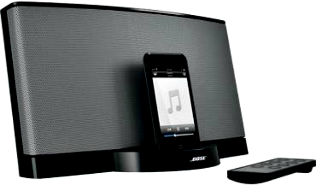 unique and beautiful iphone and ipod speakers holiday gift idea the american genius. Black Bedroom Furniture Sets. Home Design Ideas