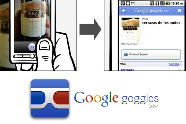 Resultado de imagem para Google Goggles