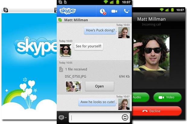 скачать приложение скайп для андроид бесплатно - фото 6