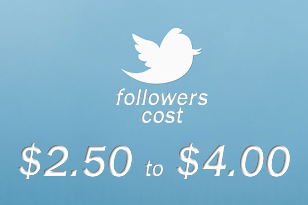 current average cost per follower