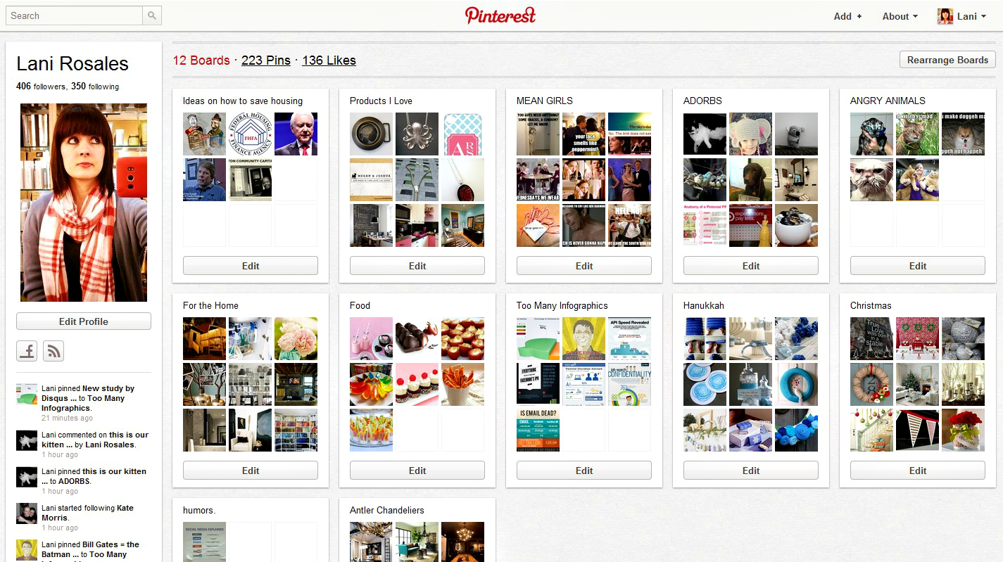 pinterest1 How to earn influence on Pinterest