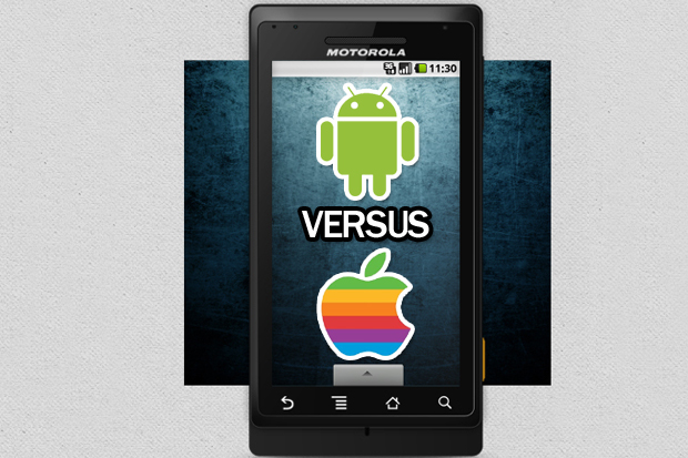 android vs apple Android dominates market, mobile use going mainstream