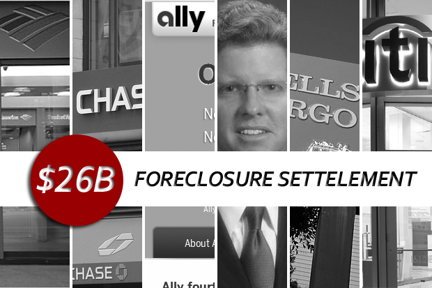 foreclosure settlement Details of $26B mortgage settlement now made public