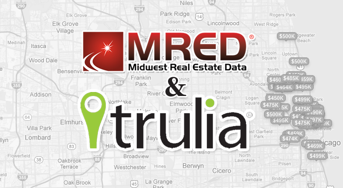 mred trulia Largest MLS in America to syndicate listings directly to Trulia