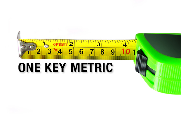 one key metric Start ups need to define and optimize to a key metric
