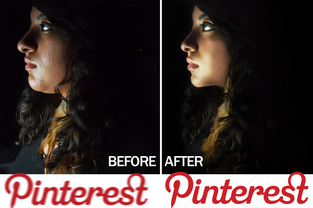 pinterest facelift Pinterest sneaks in a much needed makeover