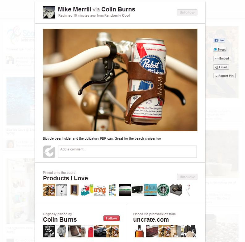 pinterest Pinterest sneaks in a much needed makeover