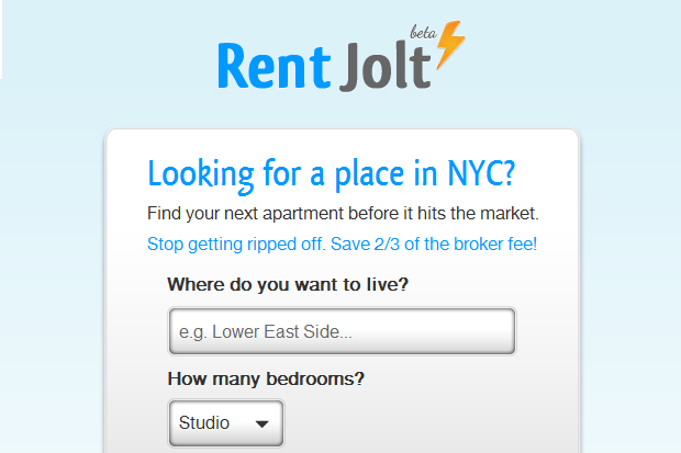 rent jolt New York startup aims to save renters money