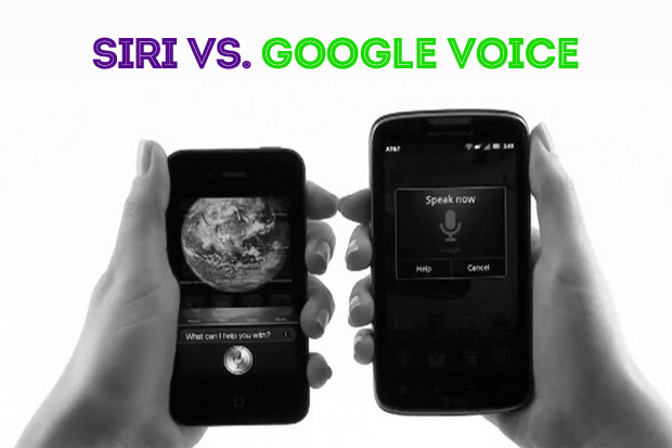 siri vs google voice Siri against Google Voice in a speed smackdown