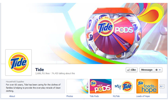 11 40 brands using Timeline Cover Photos on Facebook Pages
