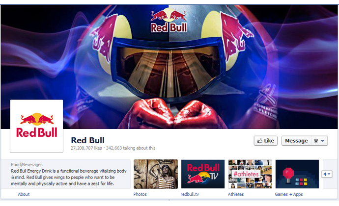 21 40 brands using Timeline Cover Photos on Facebook Pages