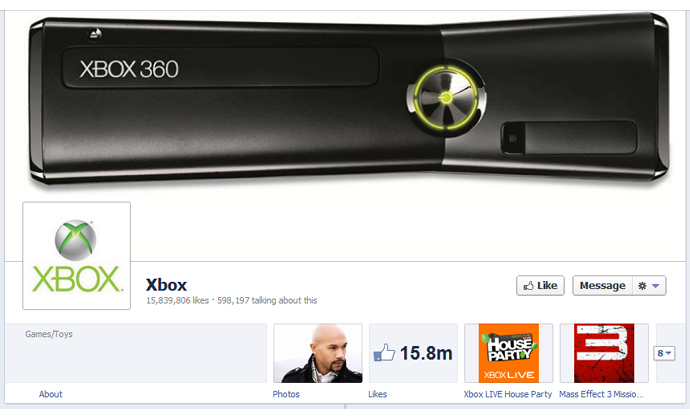 22 40 brands using Timeline Cover Photos on Facebook Pages