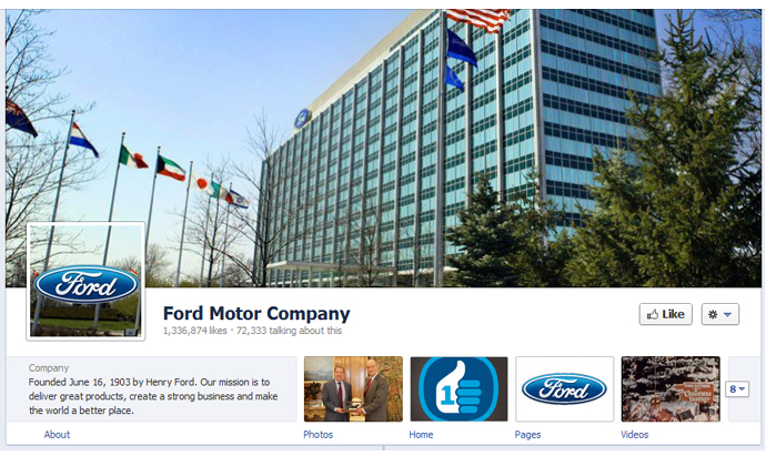 23 40 brands using Timeline Cover Photos on Facebook Pages