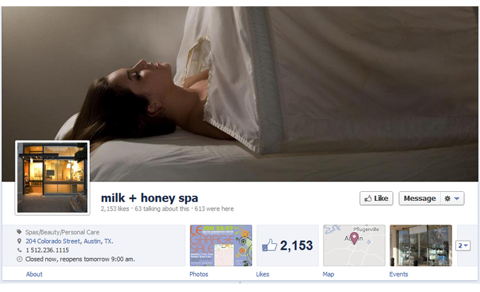 24 40 brands using Timeline Cover Photos on Facebook Pages