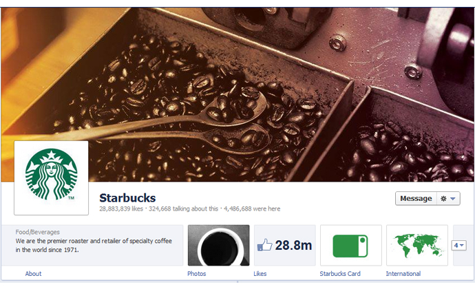 4 40 brands using Timeline Cover Photos on Facebook Pages