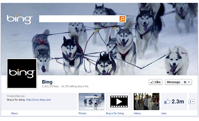 7 40 brands using Timeline Cover Photos on Facebook Pages