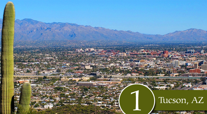 tucson Americas top 10 most vacant cities