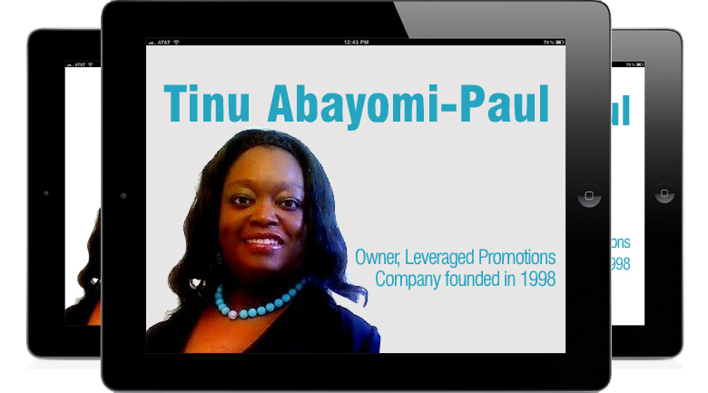 Tinu Abayomi Paul Tinu Abayomi Paul: business leader showcase