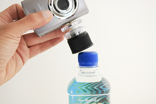cap2 How to turn any bottle into an iPhone or camera tripod