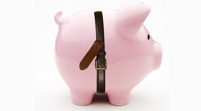tighten belt professional finances