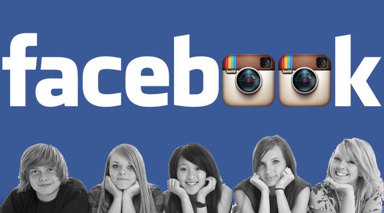 facebook, instagram, and teens