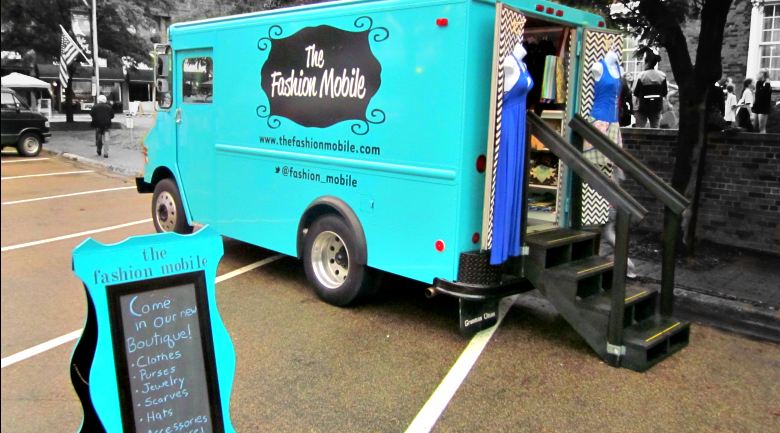 fashion mobile Are retail trucks the next food trucks?