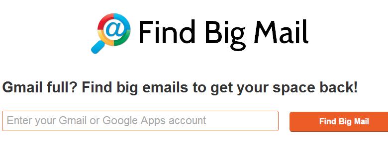 find big mail for google apps
