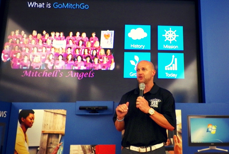 gomitchgo foundation Microsofts support of four time cancer survivors battle