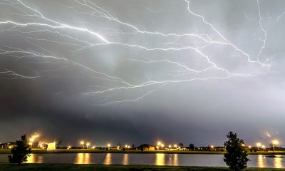 lightning strikes freak storm june 29, 2012
