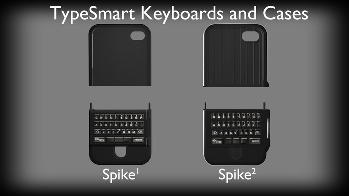 spike keyboard 1 Spike: a real keyboard for iPhones